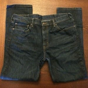 Levi's Mens 511 slim denim jeans blue B08